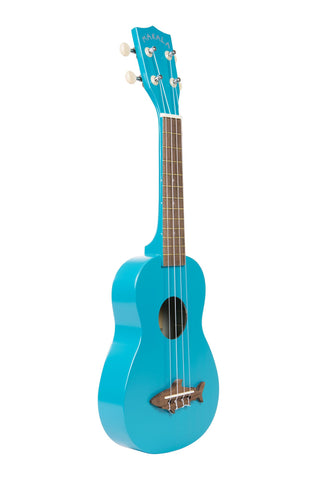 Makala Shark Bridge Soprano Ukulele Blue