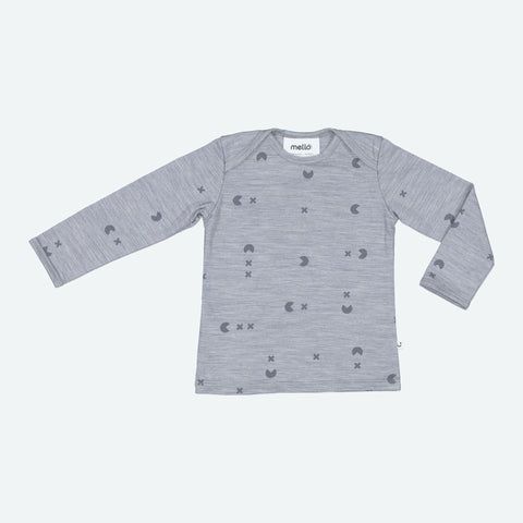 Mello Merino Mini L/S tee Catch 'em