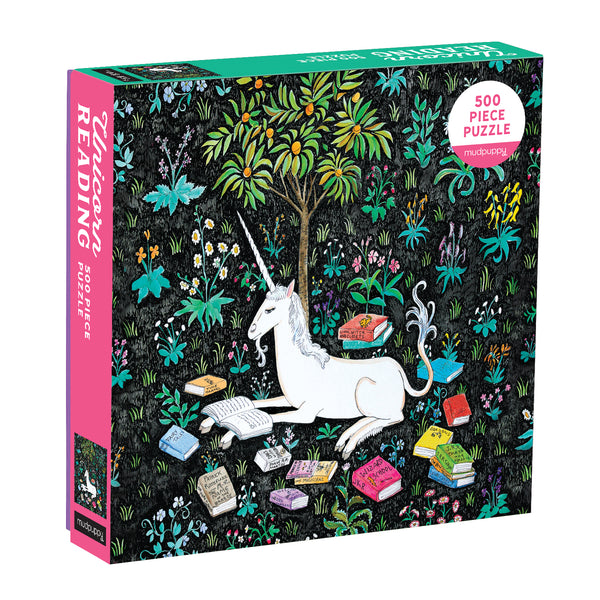 Mudpuppy 1000 Piece Jigsaw Puzzle Unicorn Reading