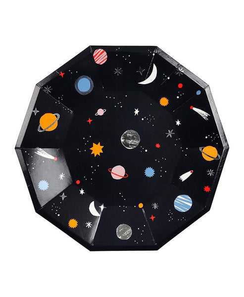 Meri Meri Space Plates Large