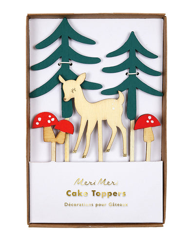Meri Meri Woodlands Cake Topper