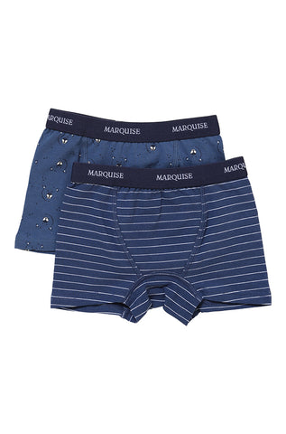 Marquise 2Pk Underwear Bear Trunks