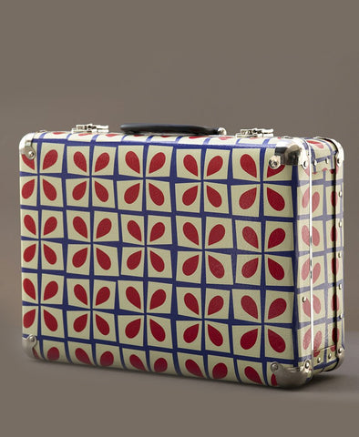 My Journey Large Travel Suitcase Retro Floral