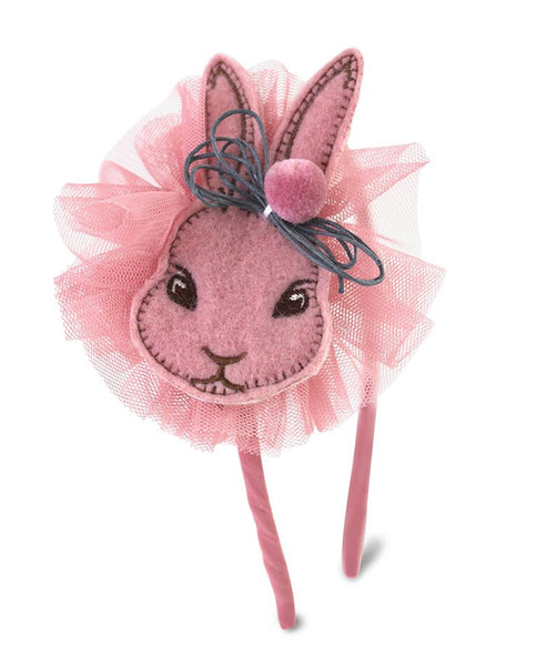 Milk & Soda Bunny Headband Pink