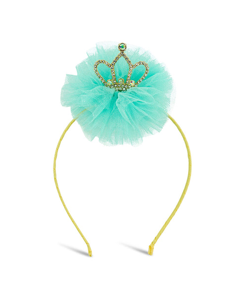 Milk & Soda Queen of Hearts Headband - Mint