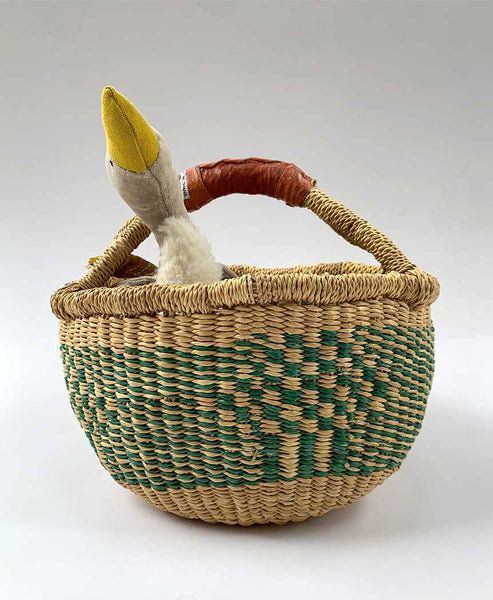 Inside Africa Genuine Hand Woven Mini Basket