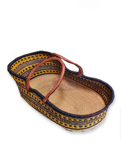 Inside Africa Genuine Hand Woven Moses Basket