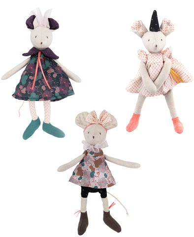 Moulin Roty Il Etait Small Assorted Mice