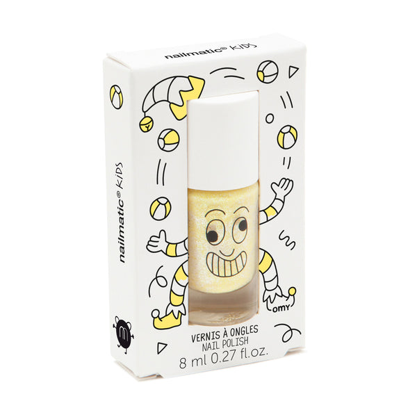 Nailmatic Kids Nail Polish: Pearly Yellow