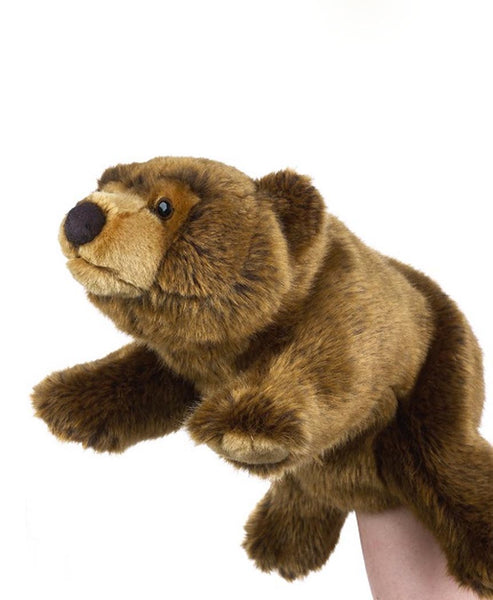 National Geographic Hand Puppet Brown Bear