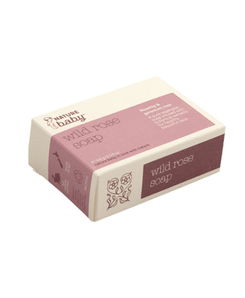 Nature Baby Organic Mum's Wild Rose Soap