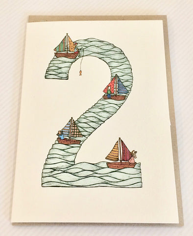 The Nonsense Maker Number 2 Card