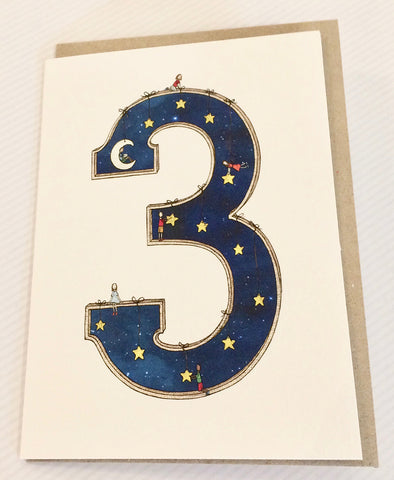 The Nonsense Maker Number 3 Card