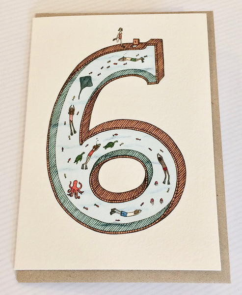 The Nonsense Maker Number 6 Card