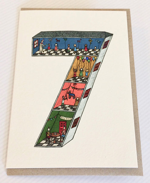The Nonsense Maker Number 7 Card