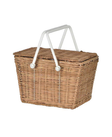 Olli Ella Kids Picnic Piki Basket Natural