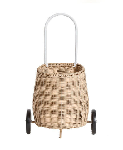 Olli Ella Luggy Wheel Basket Straw
