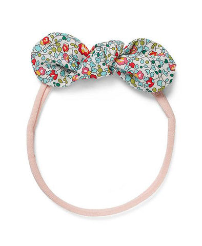 Pretty Wild Anna Bow Elastic Headband Eloise Greens