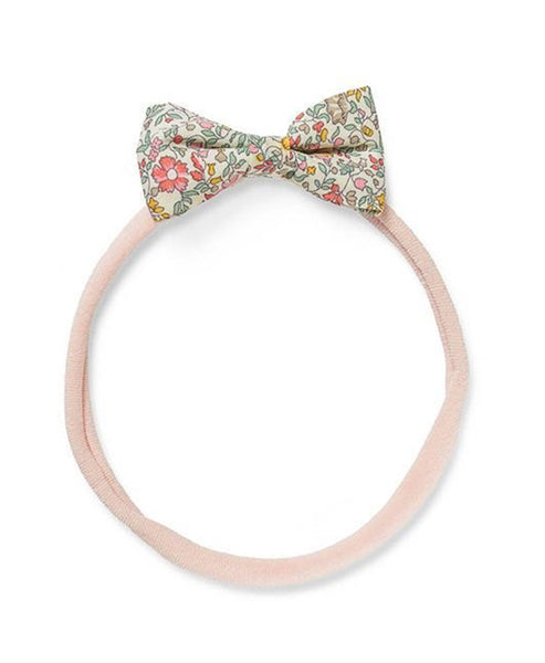 Pretty Wild Minnie Baby Bow Elastic Headband Spring Flowers