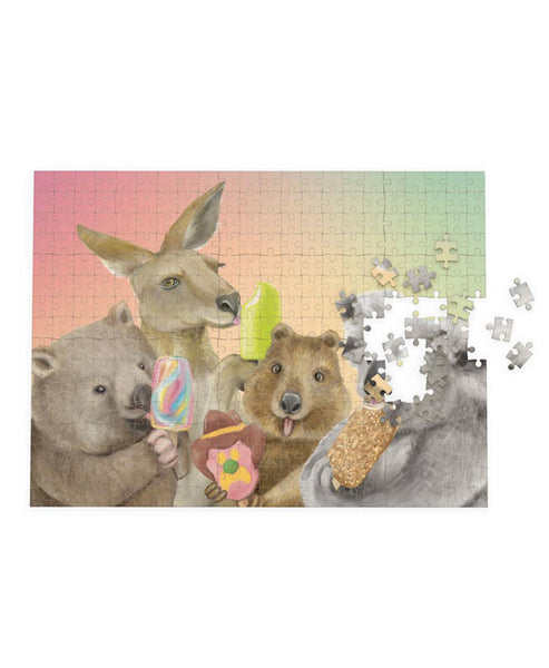 Lalaland Puzzle 1000 piece Ice Cream Critters