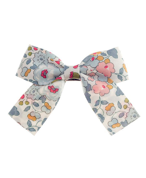 Pretty Wild Belle Big Bow Clip Powder Blue