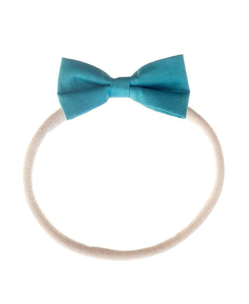 Pretty Wild Minnie Baby Bow Elastic Headband Alpine
