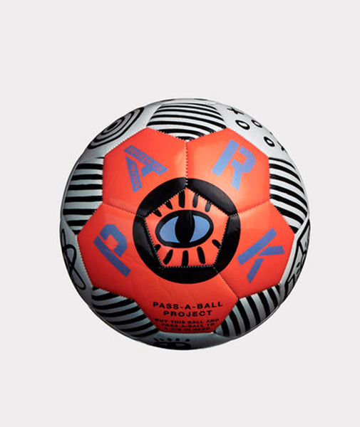 Park Social Pass A Ball Soccer Ball - Neon Orange
