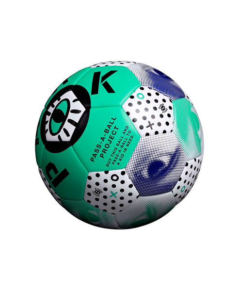 Park Social Match Ball (inflated green) - Size 3