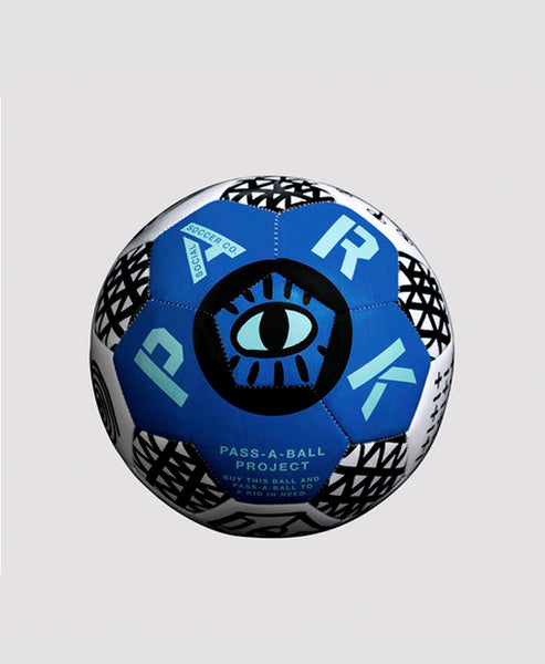 Park Social Pass A Ball Soccer Ball - Size 5 (Ultra Blue)