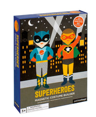 Petit Collage Magnetic Dress Up Superheroes