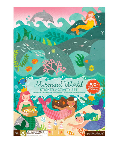Petit Collage Mermaid World Sticker Activity