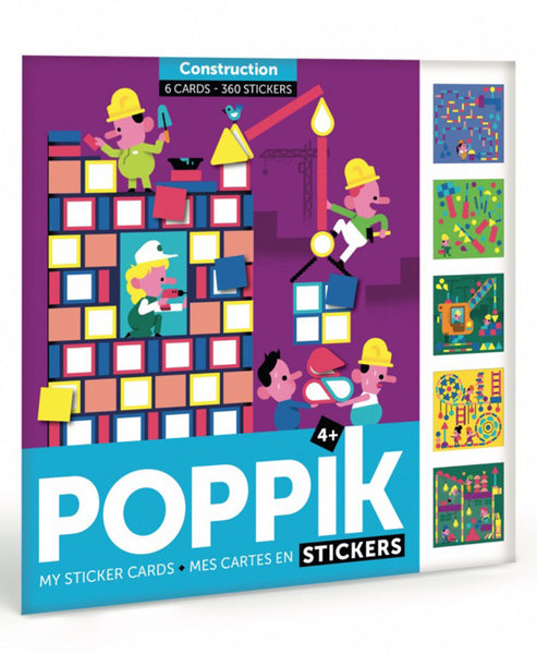 Poppik Stickers Travel Construction