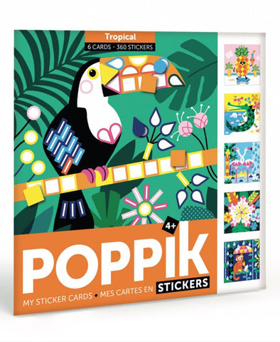 Poppik Stickers Travel Tropical