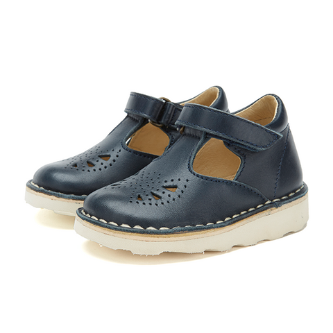 Young Soles Poppy T Bar Navy