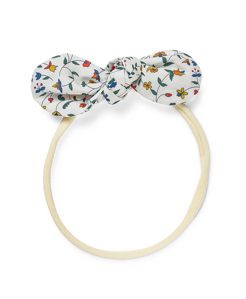 Pretty Wild Anna Bow Elastic Headband Summer Vines