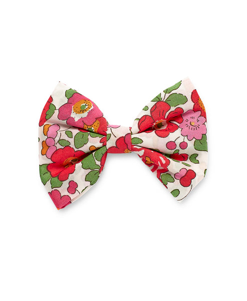 Pretty Wild Georgie Single Bow Liberty Red Betsy