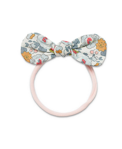 Pretty Wild Anna Bow Elastic Headband Powder Blue