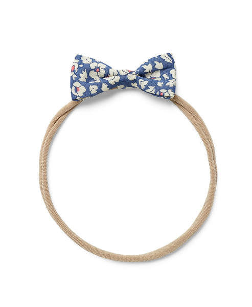 Pretty Wild Minnie Baby Bow Elastic Headband Feather Fields