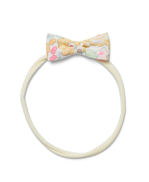 Pretty Wild Minnie Baby Bow Elastic Headband Pinky Yellow