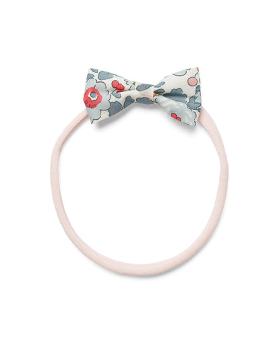 Pretty Wild Minnie Baby Bow Elastic Headband Powder Blue