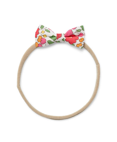 Pretty Wild Minnie Baby Bow Elastic Headband Red Betsy