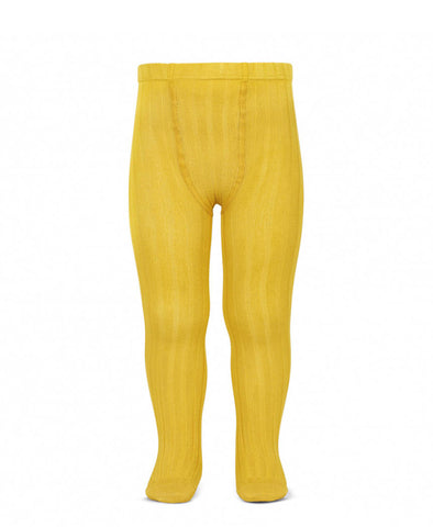 Condor Ribbed Tights (#630 Amarillo)