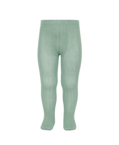 Condor Ribbed Tights (#704 Jade)