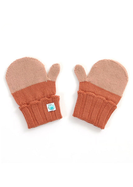 Uimi Roxy Merino Kids MIttens: Butterscotch
