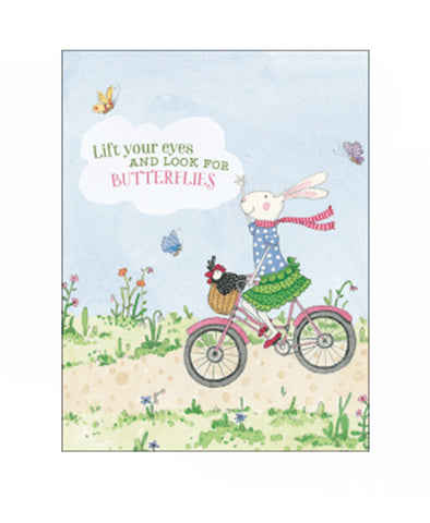 Ruby Red Shoes Lift Your Eyes Card