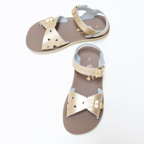 Salt Water Sun-San Sweetheart Sandal Gold