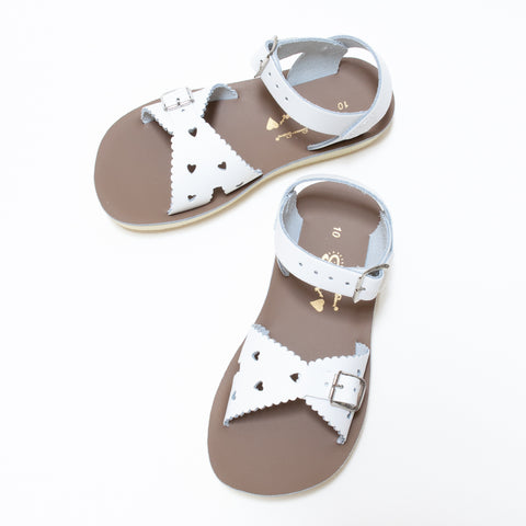 Salt Water Sun-San Sweetheart Sandal - White