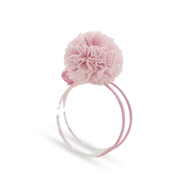 Milk x Soda Pom Hair Tie - Baby Pink