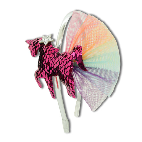 Minista Magic Unicorn Headband Cerise