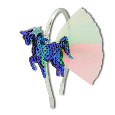 Minista Magic Unicorn Headband Blue/Green